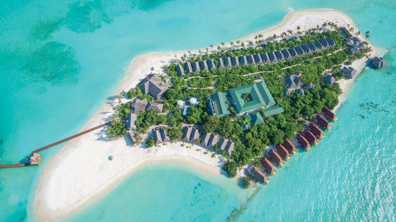villaggio italiano o internazionale alle Maldive