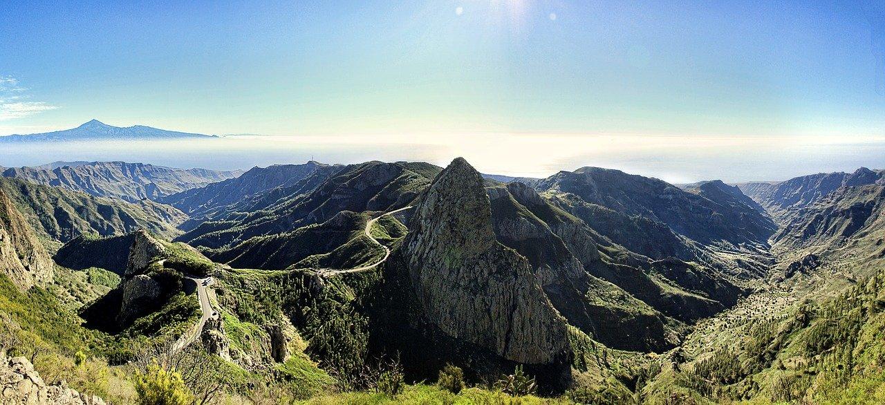 El Hierro, La Gomera, La Palma