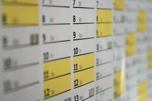 Calendario riaperture italia